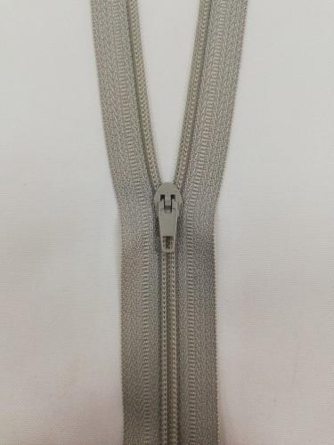Молния спираль Т5 40см цв.№310 серый(в упак.50шт)