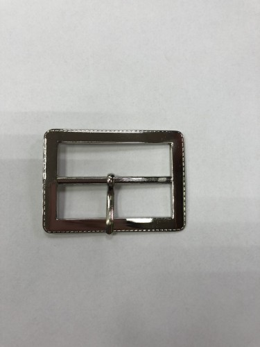 8396 Пряжка металлическая 4,5см цв.никель(в упак.100шт)