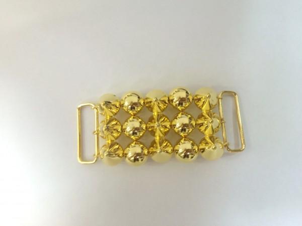 1005 Пряжка декоративная цв.золото(в упак.10шт)