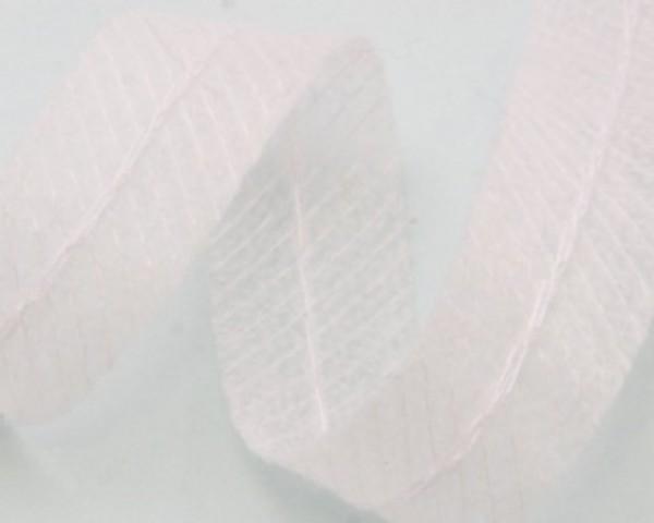 Лента нитепрошивная по косой со строчкой 15мм цв.белый(в рул.140м)
