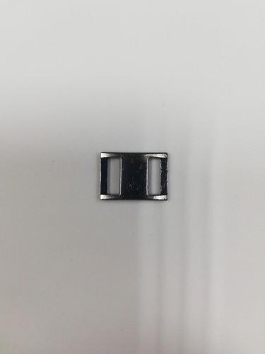 4444АА Пряжка-рамка металлическая 0,8см цв.ч.никель(в упак.1000шт)