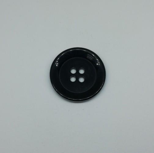 0375PMP Пуговица №40 25мм цв.черный(в упак.500шт,в кор.№387)