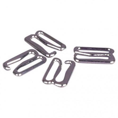 Бельевой крючок металлический 12мм цв.никель(в упак.1000шт)