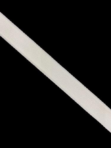 0102ASP Бельевая резинка 20мм цв.белый(в рул.100м)