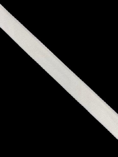 0102ASP Бельевая резинка 18мм цв.белый(в рул.100м)