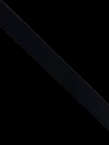 0102ASP Бельевая резинка 20мм цв.черный(в рул.100м)