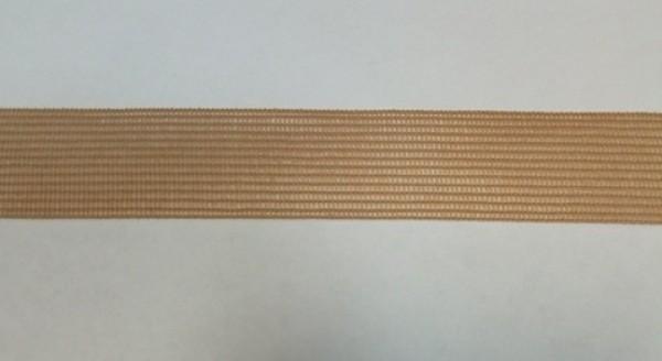 279(27) Окантовочная лента 22мм цв.т.бежевый(в рул.100м)