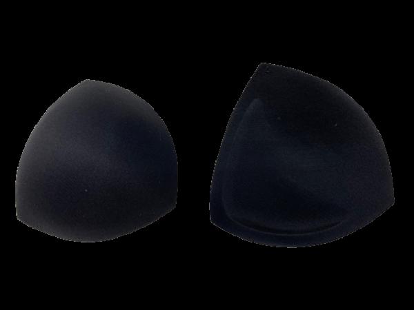 L Чашки корсетные цв.черный треугольник(в упак.30пар)