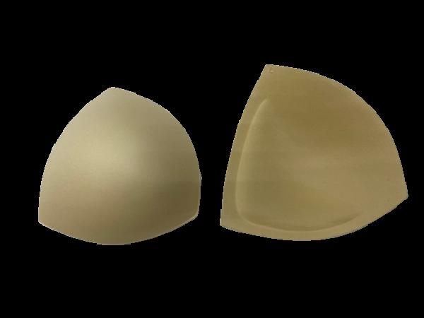 L Чашки корсетные цв.бежевый треугольник(в упак.30пар)