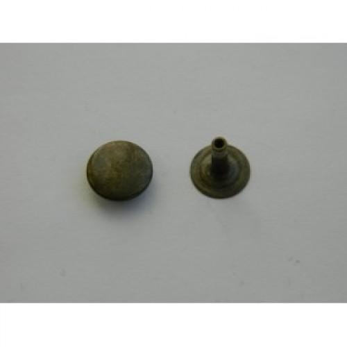 Хольнитен стальной 11*11мм цв.антик(в упак.2000шт)