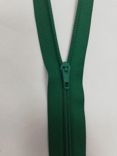 258 Молния спираль Т4 20см неразъемная цв.ярко-зеленый(в упак.100шт)