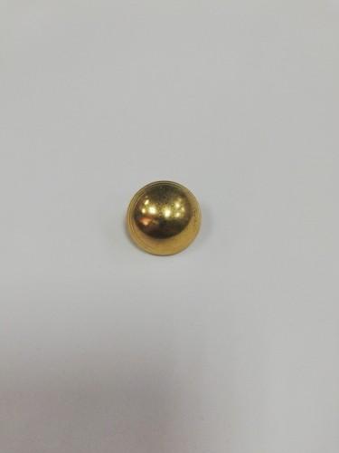 1/1 Пуговица металлизированная №36 23мм цв.золотистый(в упак.500шт,в кор.№634-635)