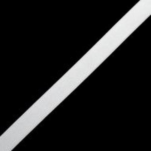 Резинка вязаная стандартная 020мм цв.белый(в рул.25м)