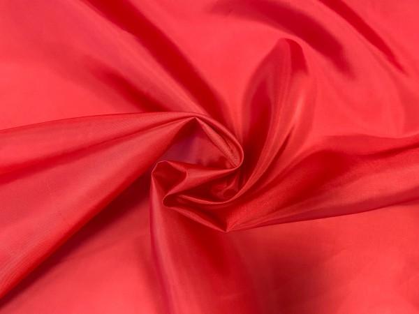 1099 Ткань подкладочная однотонная 210Т 100%ПЭ 150см цв.красный(в рул.100м)