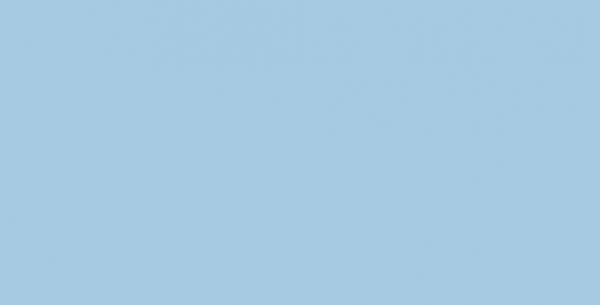 Молния спираль Т3 20см неразъемная цв.№184 голубой(в упак.100шт)