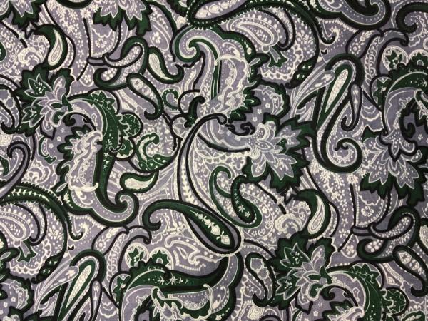 2018 Ткань подкладочная огурчики 190Т 150см цв.т.зеленый(в рул.100м)