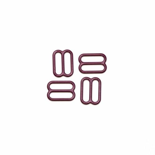 Бельевая рамка регулировочная металлическая 0,6мм цв.бордовый (в упак.1000шт)