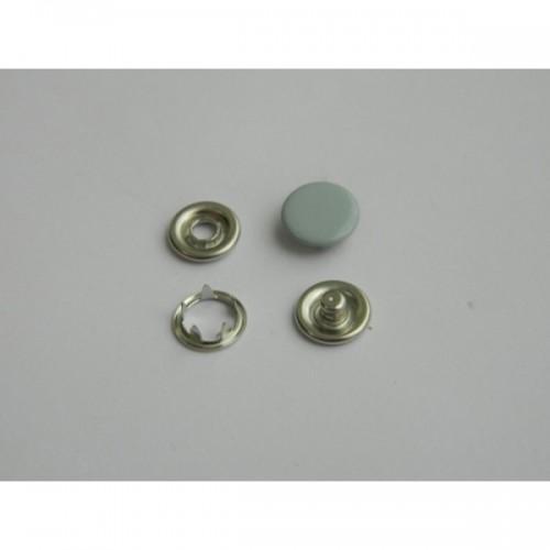 031 Кнопка нержавеющая трикотажная закрытая 09,5мм цв.серый(в упак.1440шт)
