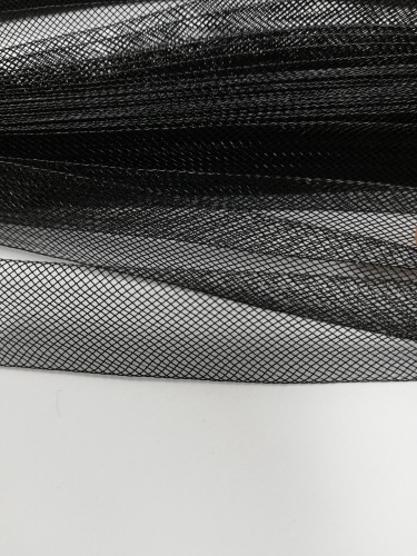 Регилин мягкий 15мм цв.черный(в рул.23м)