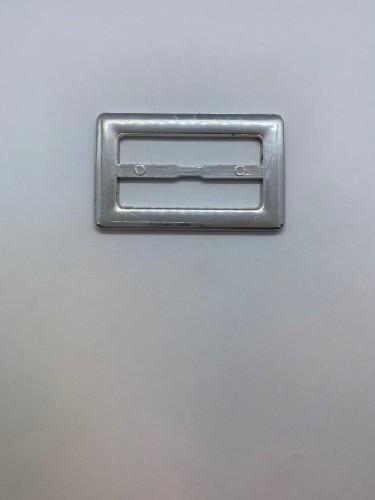 125ТКА Пряжка металлическая 5см цв.никель(в упак.500шт)