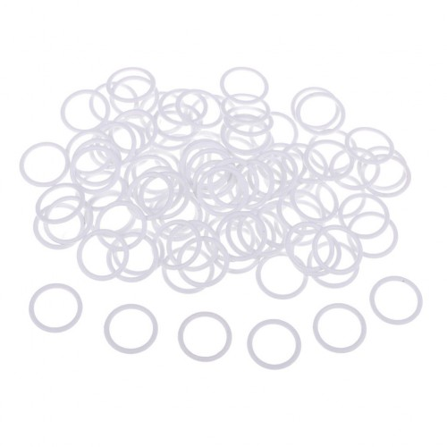 Бельевое кольцо регулировочное металлическое 12мм цв.белый(в упак.2000шт)