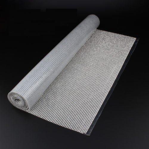 Стразы в рулоне SS10 3мм Silver 45*120см