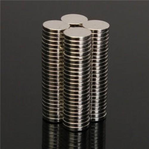 Магнит потайной стальной 10*2мм(в упак.2160шт)