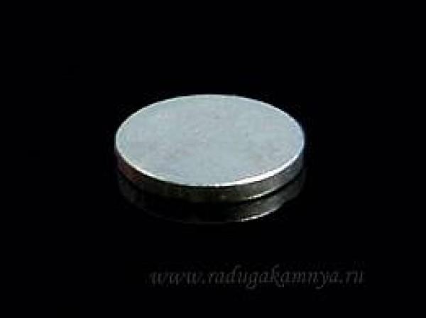 Магнит потайной стальной 14*2мм(в упак.1000шт)