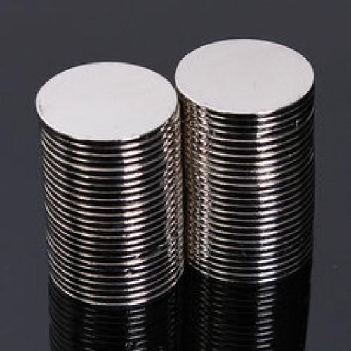 Магнит потайной стальной 18*2мм(в упак.720шт)