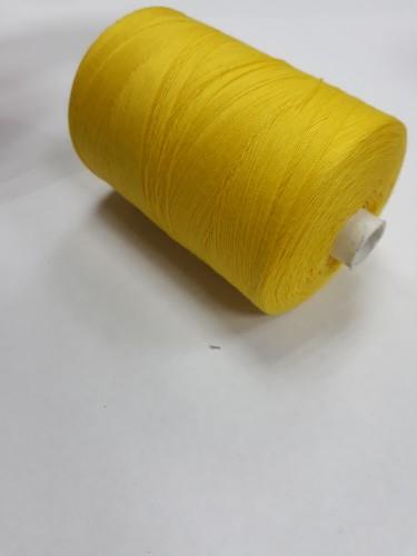 0206 Нить 45ЛЛ 100% ПЭ 2500м цв.желтый(в упак.20шт)