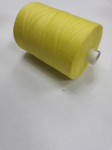 0306 Нить 45ЛЛ 100% ПЭ 2500м цв.желтый(в упак.20шт)