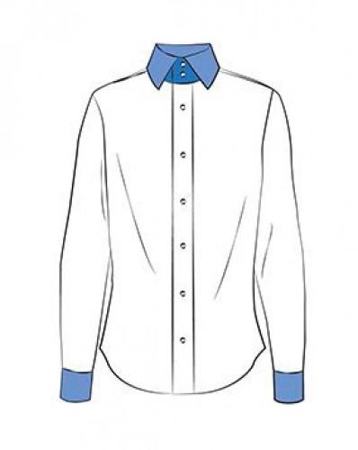 K231 Дублерин сорочечный хлопковый 230г/м сплошной 90см цв.белый(в рул.100м)