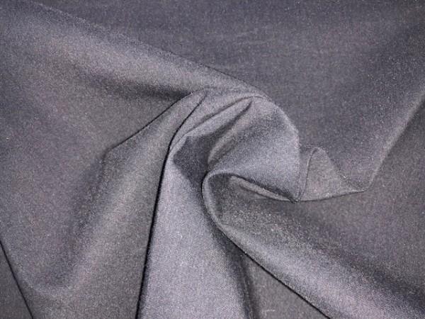 05-7090 Ткань хлопок сатин однотонный 80%хлопок 20%полиэстер 150см цв.черный(в рул.100м)