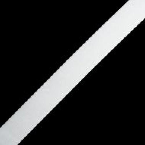 Резинка вязаная стандартная 030мм цв.белый(в рул.50м)