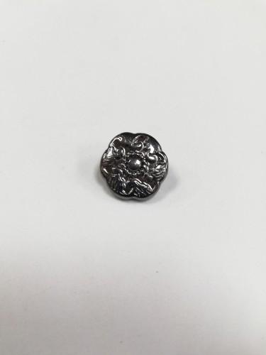 18 Пуговицы литые пришивные на ножке цв.ч.никель