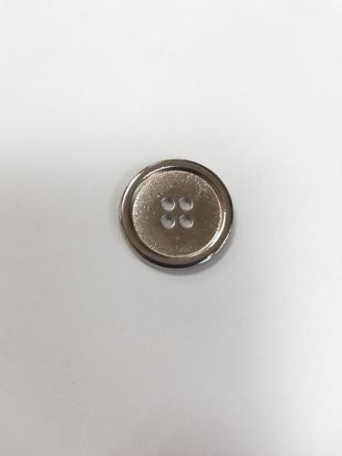 1 Пуговицы литые пришивные цв.никель