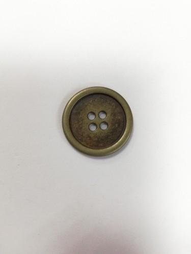 1 Пуговицы литые пришивные цв.антик