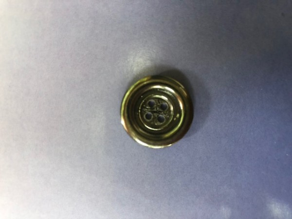 8 Пуговицы литые пришивные цв.никель