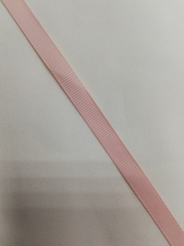 Репсовая лента блестящая 10мм цв.14-1309 пыльная роза(в рул.100м)