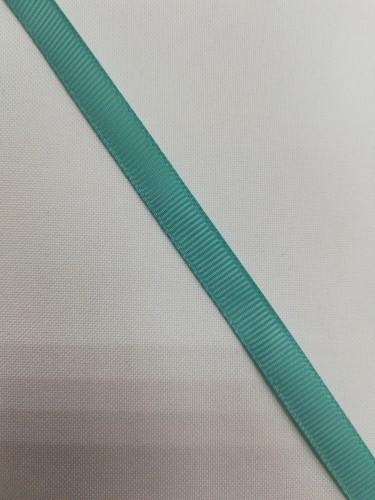 Репсовая лента блестящая 10мм цв.16-5412 колотый лед(в рул.100м)