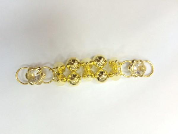 13R Пряжка декоративная цв.золото(в упак.10шт)