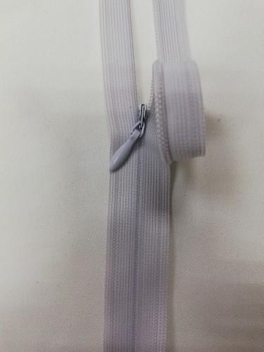 1337 Молния потайная Т3 60см цв.светло-серый(в упак.50шт)