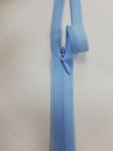 0542 Молния потайная Т3 60см цв.голубой(в упак.50шт)