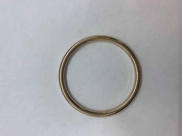1133Y Кольцо 3*45мм цв.золото(в упак.100шт)