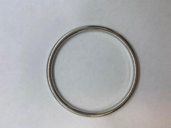 1134Y Кольцо 3*50мм цв.никель(в упак.100шт)