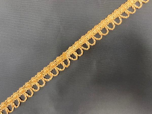 Тесьма декоративная для штор №10-22 цв.бежевый(в упак.27м)