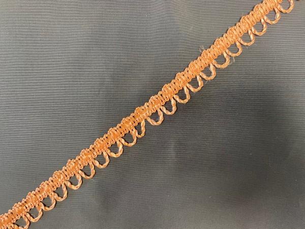 Тесьма декоративная для штор №10-22 цв.коричневый(в упак.27м)