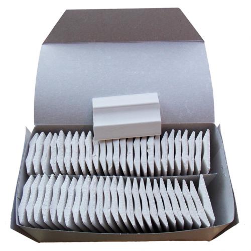 Мел портновский прямоугольный цв.белый(в упак.52шт)