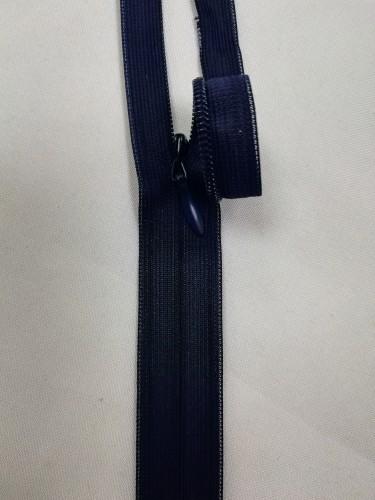 0168 Молния потайная Т3 60см цв.т.синий(в упак.50шт)