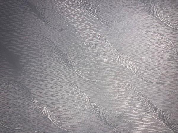 Р1 Ткань подкладочная жаккардовя волна 210Т 150см цв.белый(в рул.50м)